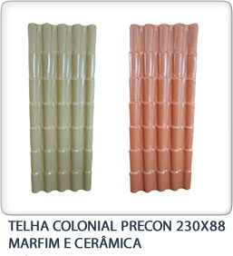 Telha colonial precon